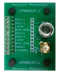 D2-007  Current and Temperature Control Breakout Board
